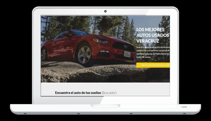Ejemplo de sitio web autoadministrable