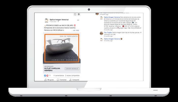 Campaña de publicidad en facebook ads