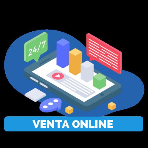 servicios de ventas online o e-commerce