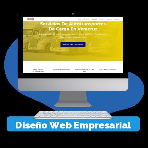 Diseño de paginas web para empresas