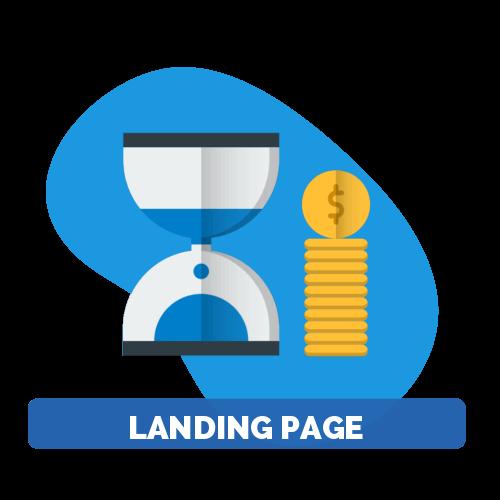 diseño web tipo landing page